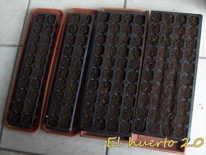 Sembrando tomates y pimientos en enero el huerto 2 0 - Tierra para semilleros ...