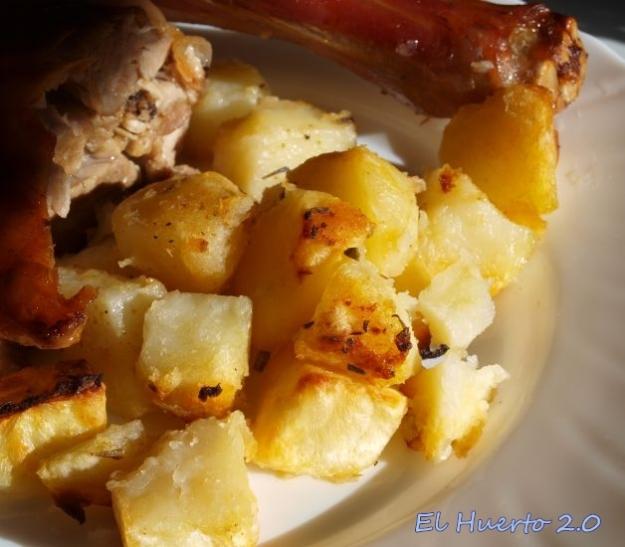 Cordero con patatas