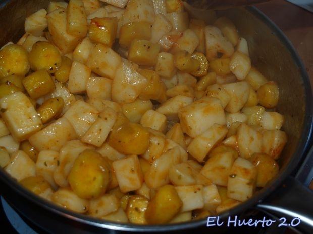 Patata y boniato precocidos