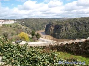 Cañón del Duero desde la ciudad