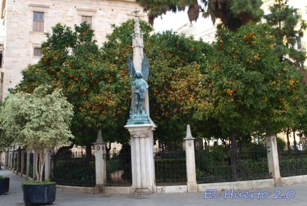 Plaza de la Virgen, en Valencia