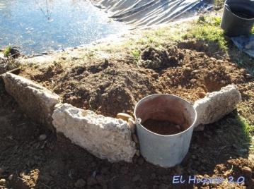 Construyendo la rocalla