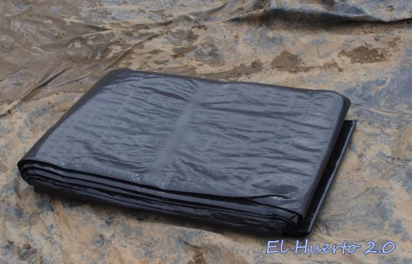 Renovaci n del estanque iii llenado el huerto 2 0 for Lona estanque barata