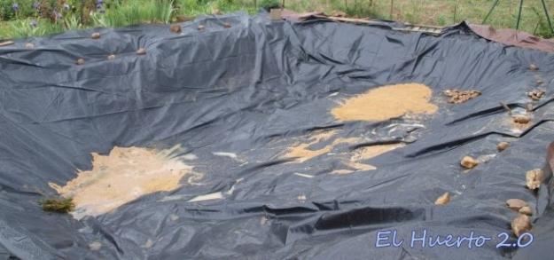 Con base de fango y arena