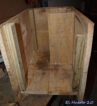 Interior desde un lateral
